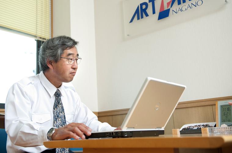 アートパーツ長野 代表取締役鈴木修一